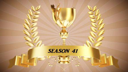 41st Racing Season – Trophy Room